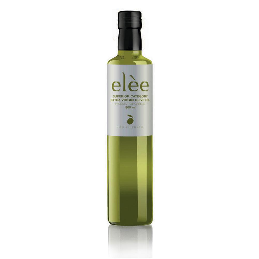 Elèe 500 ml - Olio d'Oliva Extravergine non filtrato