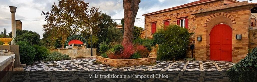 Villa tradizionale a Kampos di Chios