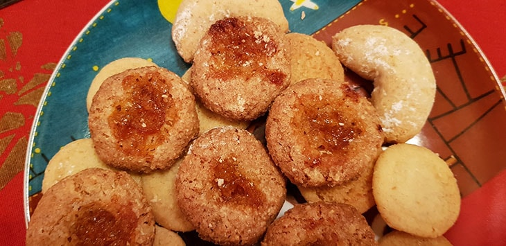 Biscotti alla Marmellata di Mandarino