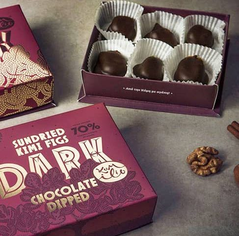 Fichi ricoperti di Cioccolato Fondente