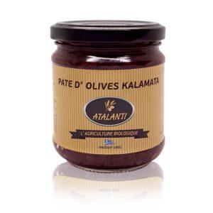 Patè di Olive greche Kalamata BIO
