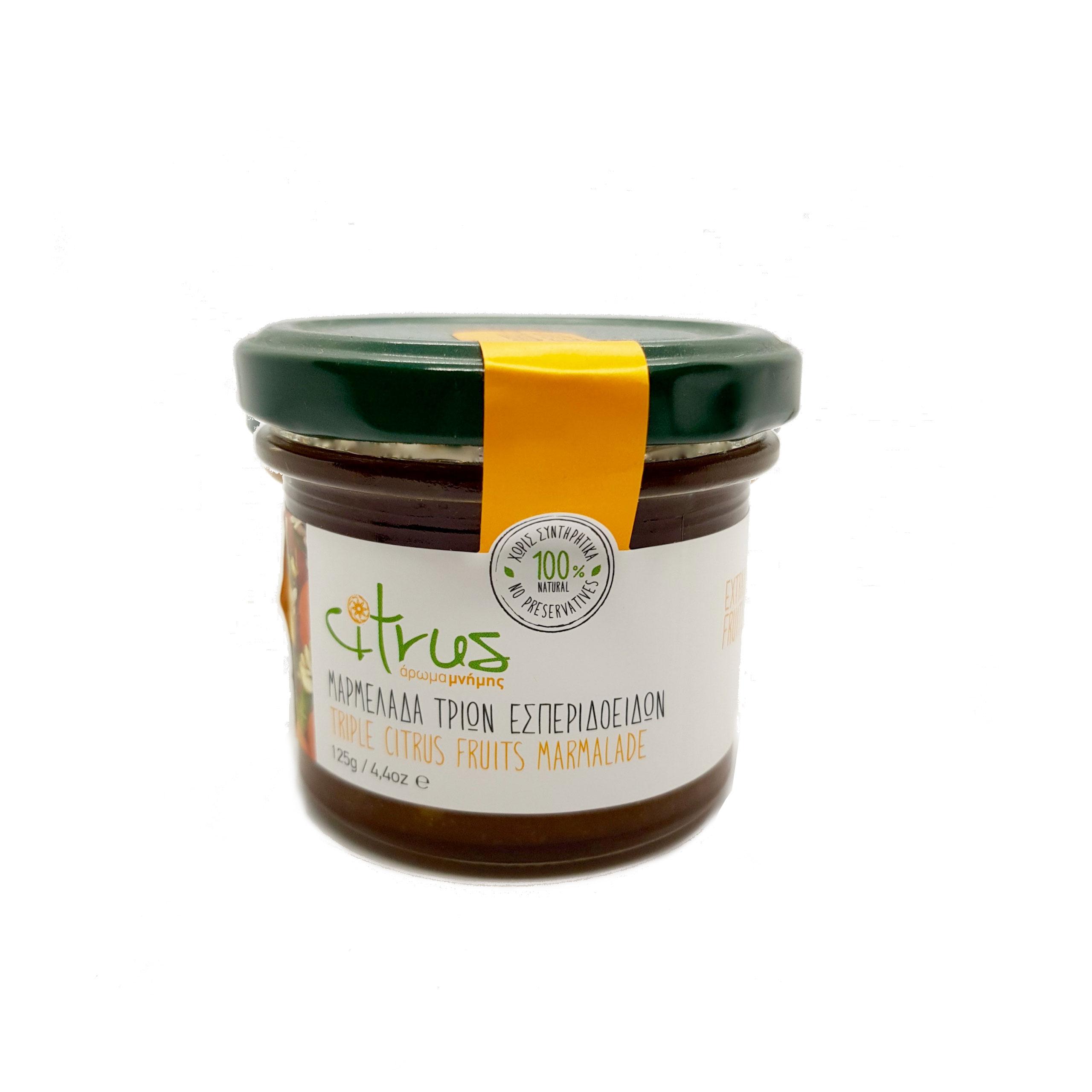 marmellata di agrumi senza conservanti