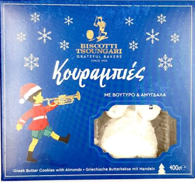 Kurabiedes tipici dolci natalizi greci