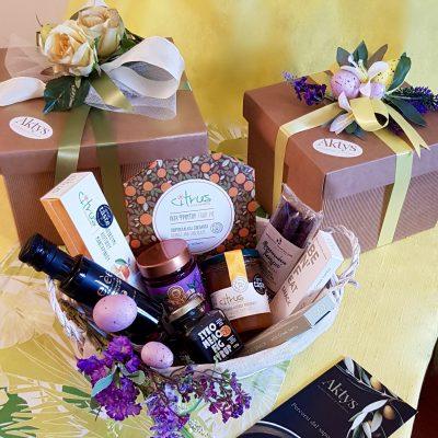 Eleganti confezioni di prodotti greci aktys.it
